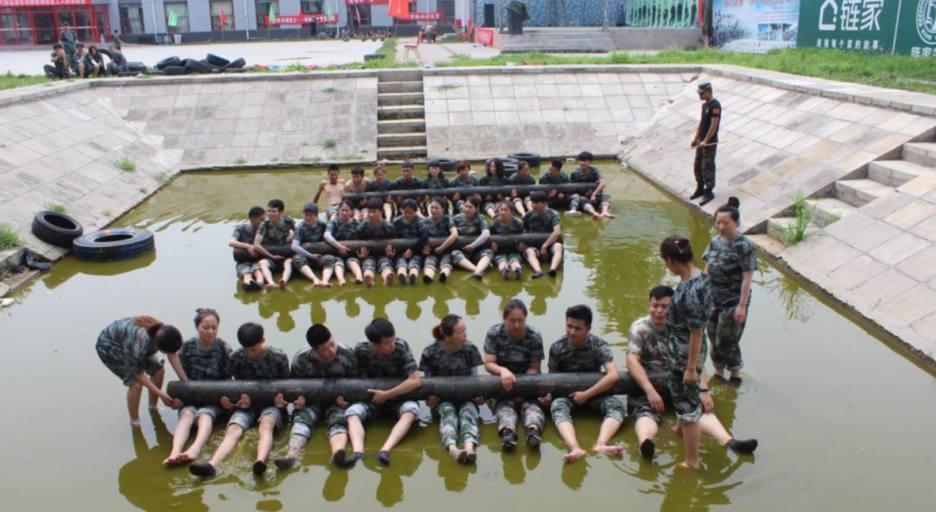 打造销售团队军事化拓展训练营